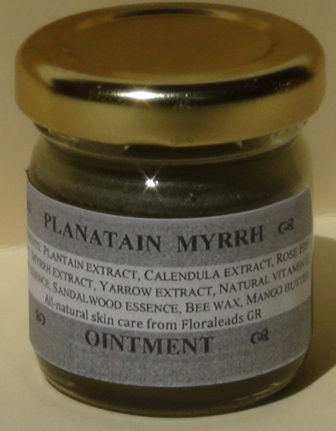 Herbal ointment helps support revitatize skin